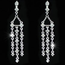 Серьги Dangling Chandelier Earrings use Swarovski Crystal SE209