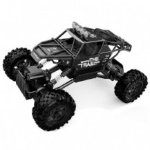 Автомобиль OFF-ROAD CRAWLER на р/у – WHERE THE TRAIL ENDS (матов.черн., аккум.7.2V, мет.корпус,1:14) от Sulong Toys - под заказ