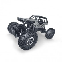 Автомобиль OFF-ROAD CRAWLER на р/у – ROCK (серебристый, метал. корпус, 1:18) от Sulong Toys - под заказ