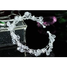 Браслет Bridal Handmade Cuff Bangle use Swarovski Crystal SSB064