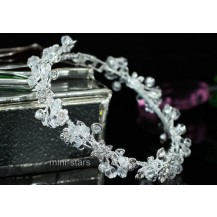 Браслет Bridal Handmade Bangle use Swarovski Crystal SSB065